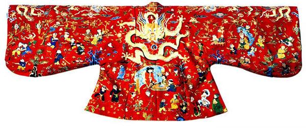 中国传统服饰纹样