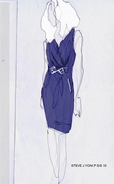【欧美时尚】——来看看欧美时装画表现手法!