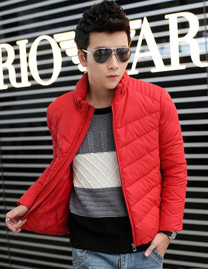 2014年男人过年红色服装搭配