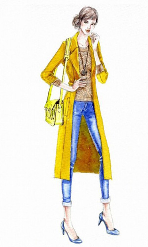 服装设计图手绘潮